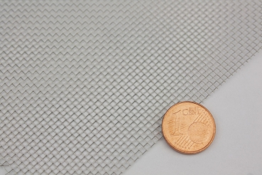 Stainless steel wire mesh 1.4 mm mesh width, 0.25mm wire thickness - 10x100